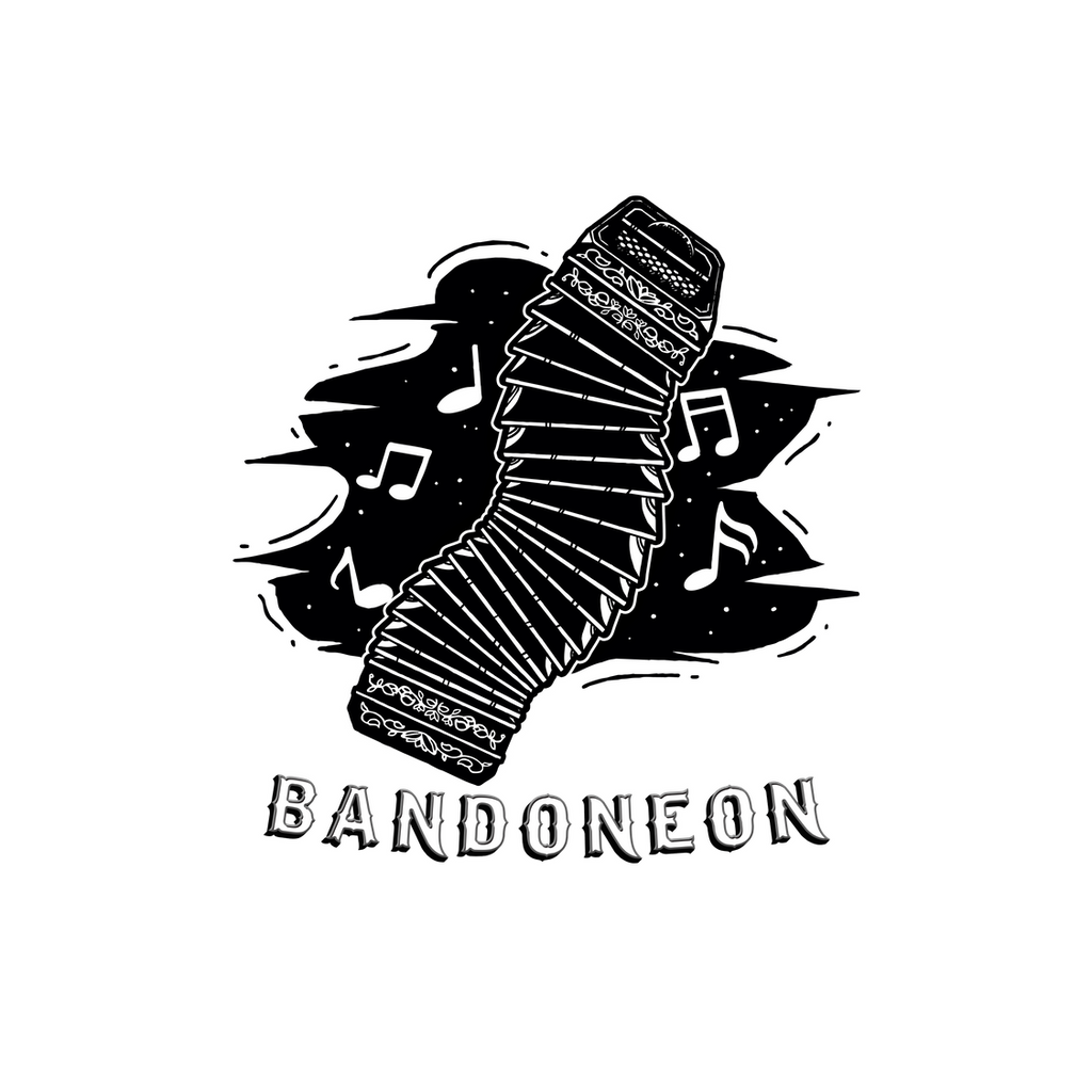 Tango Voyage Bandoneon Sticker