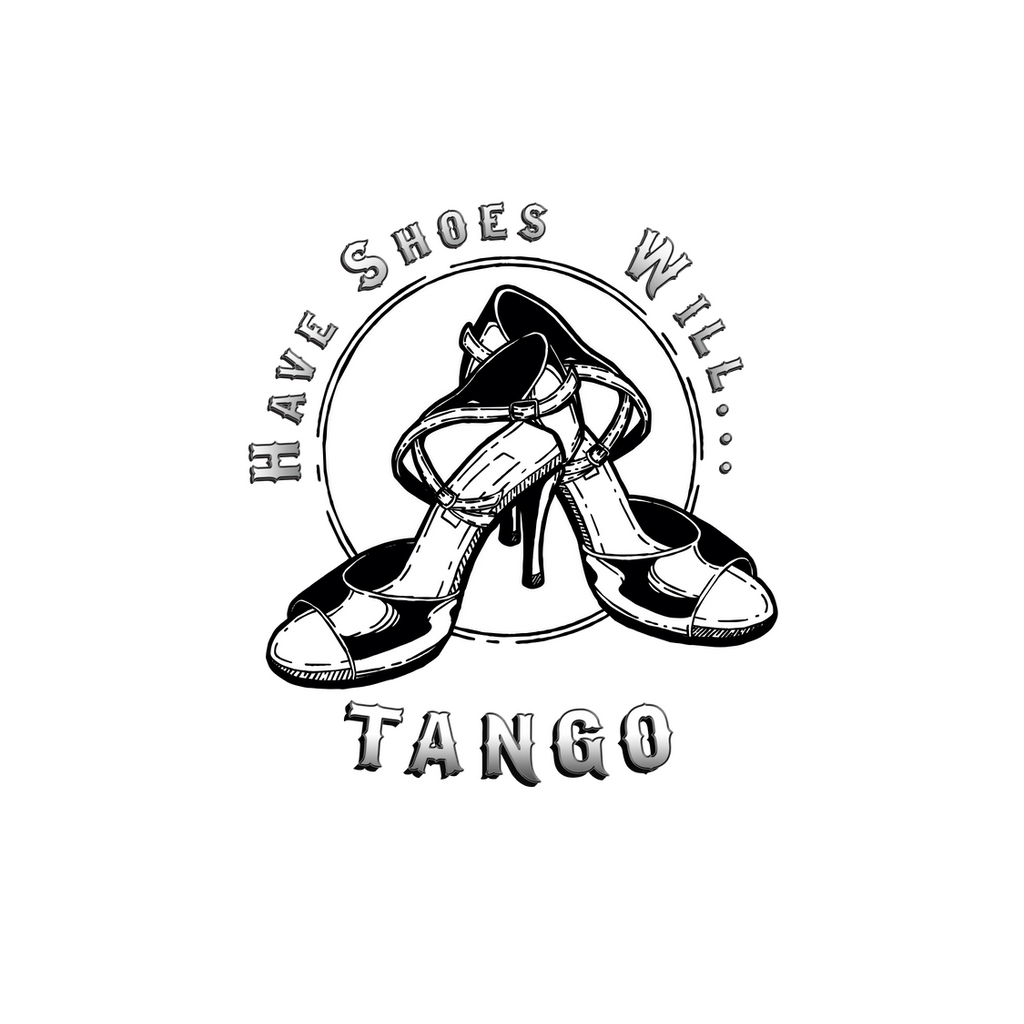 Tango Voyage Have Shoes Will Tango Sticker